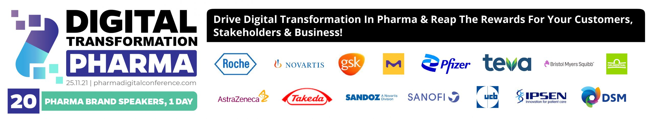 Pharma Digital Transformation Conference
